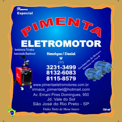 PIMENTA  ELETROMOTOR