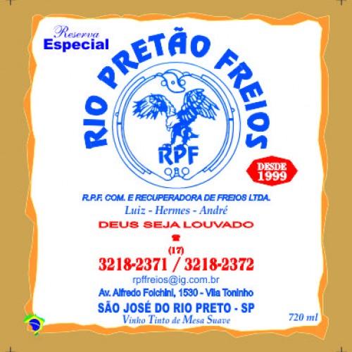 RIO PRETAO FREIOS