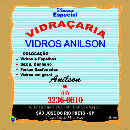 VIDROS ANILSON