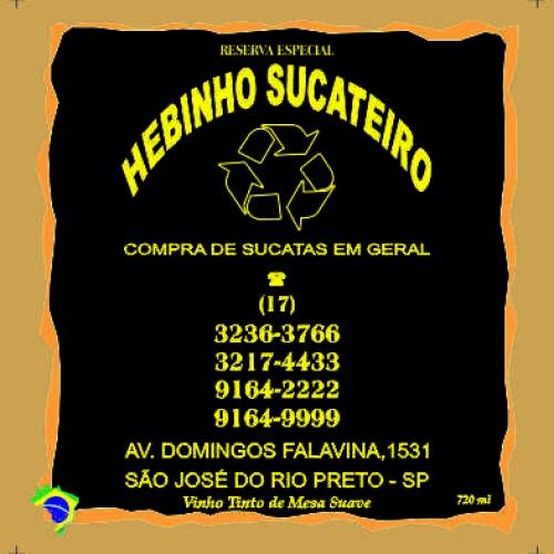 HEBINHO SUCATEIRO